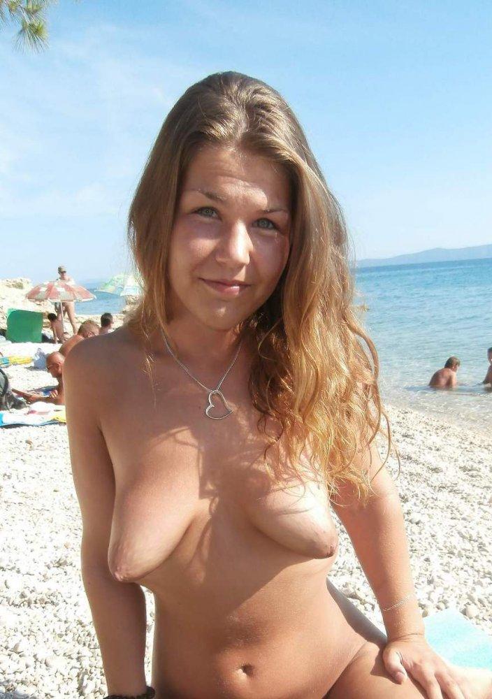 Adult bikini model