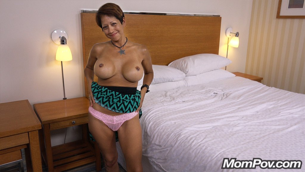 rena 42 year old busty mixed asian milf