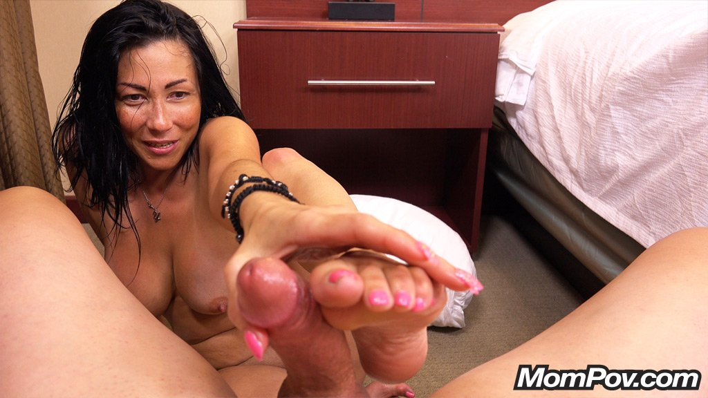 Big Tit Stepmom Pov Handjob