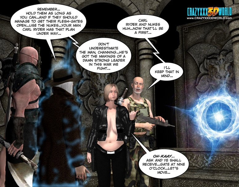 3d comic langsuir chronicles episodes 1011 3