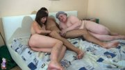 Crazy orgie with grandma (16 pics)