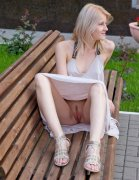 theSandfly Pantyless In Public! (10 pics)