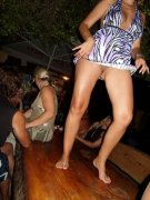 theSandfly OOPs - Upskirt Pantyless! (14 pics)