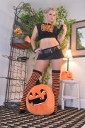 Vicky Vette's Halloween Hooters! (12 pics)