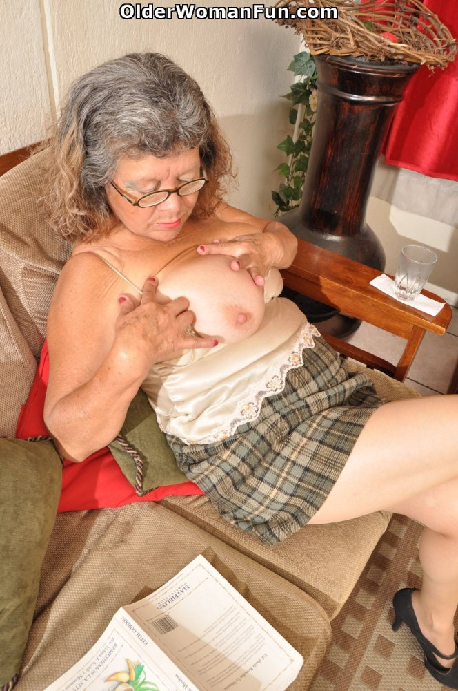 60 year old granny brenda  es home from bingo night by olderwomanfun