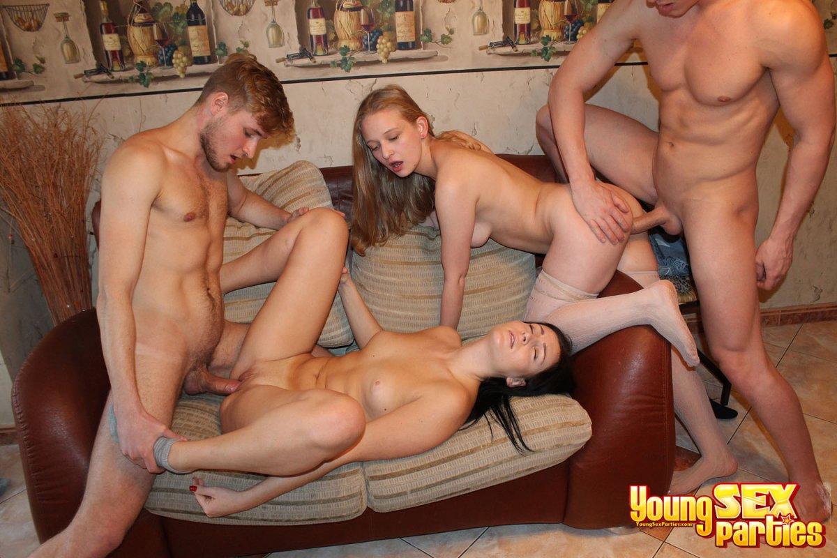 Teen group sex parties