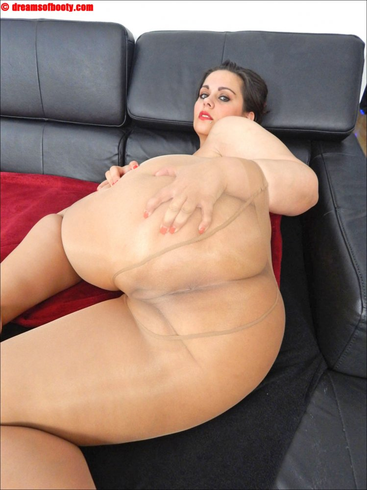 bbw samantha in skin coloured pantyhose photo album by