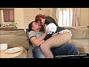 Порно видео рыжая в колготках