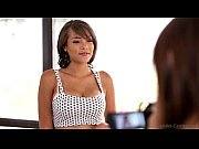 Picture Nubiles Casting - Busty black babe tittie-fucks h...