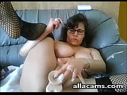 Mature toying on cam