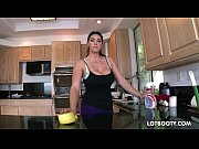 Picture Big booty brunette busty maid Alison Tyler gets f...