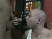 piss and jizz in the bar ! – Gay Porn Video