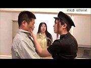 【さとう遥希】ドS看守が彼女の目の前でペニバン挿入の逆アナルで彼氏を寝取る!