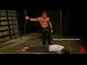 Bondage sex with gay slave tortur