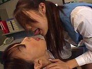 【職場内で欲情するレズビアンたちのエロシーン】濃厚な絡みです
