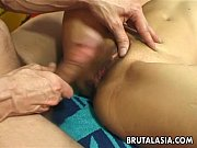 Picture Hot busty Asian slut getting banged up real...
