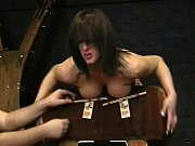 Brutal bdsm and carpet beating