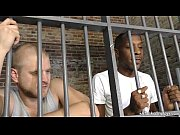 interracial gay sex in the prison – Porn Video
