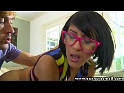 Picture ExxxtraSmall Fucking a sexy nerdy petite latina Y...