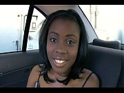 Picture Chocolate Young Girl fuckin in The Car