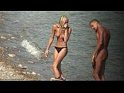 topless blonde teen beach video