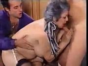 Grandmother Fucks Son And His
