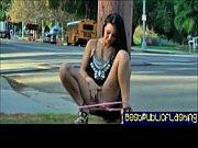 giselle leon teenage public flashing slut pt. 2