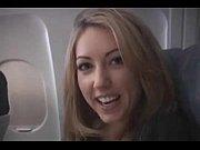 Picture Sarah Peachez - airplane blowjob
