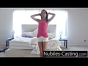 Picture Extra small 20y-Girls first hardcore casting...