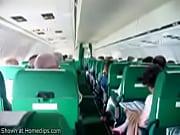 Mi mujer se masturba en el avion