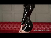 Black latex suit babes posing in rubber boots and tight pvc latex fetish of naug