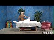 Oriental massage movie scene