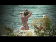 public beach nudism video
