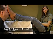 Picture Cassandra's Sweaty Feet Domination