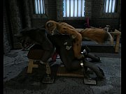Fox and Wolf - Forced Dungeon Sex h0rs3