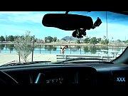 DriverXXX - Tiny teen rides cock for a drive home thumbnail