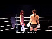 Cat fight and hard blowjob in