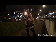 Stunning English Tart Kaz B Nude Pissing In Public