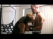 Mature Leather Daddies Fuck In A Sling