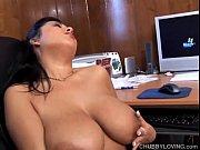 Chubby latina has great tits