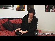 Emo boy porn black first time Adorable stud bang-out cherry Terror