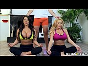Picture Huge tits yoga wives share the instructors b...