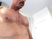 old muscleman lets a big black shaft up  … – Gay Porn Video