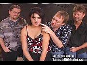 Hot Goth Chick Bukkake Blow Bang Party