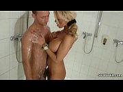 forbidden blonde milf jerks off step son in shower thesexyporn.eu