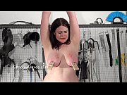 Chubby amateur bdsm and lesbian domination of mousetrap nipple tormented