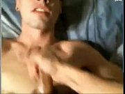 two fit boys cum on each other