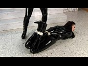 Latex Lesbians in Latex Catsuits