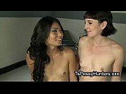 Picture Tranny fucks pale brunette nurse