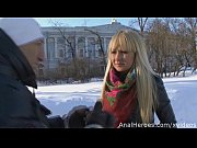 Picture A cute Russian babe seduced, fucked and gets...